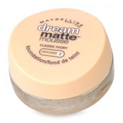 Merchandise 7698453 Maybelline Dream Matte Mousse Foundation Classic Ivory - 0.64 oz