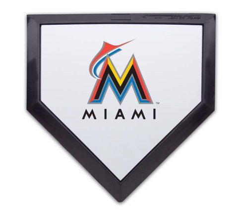 Miami Marlins Licensed Authentic Pro Home Plate from Schutt