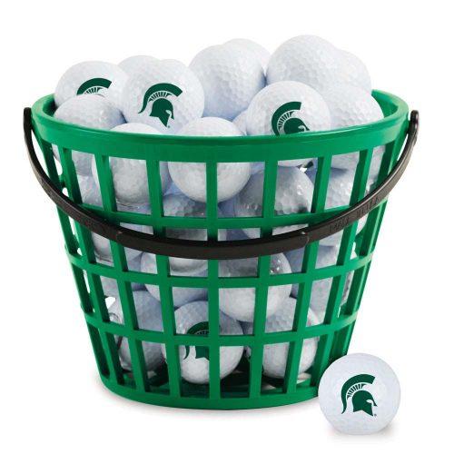 Michigan State Spartans Golf Ball Bucket (36 Balls)