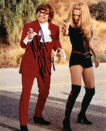 """Mike Myers Autographed """"Austin Powers"""" 8"""" x 10"""" Photograph (Unframed)"""