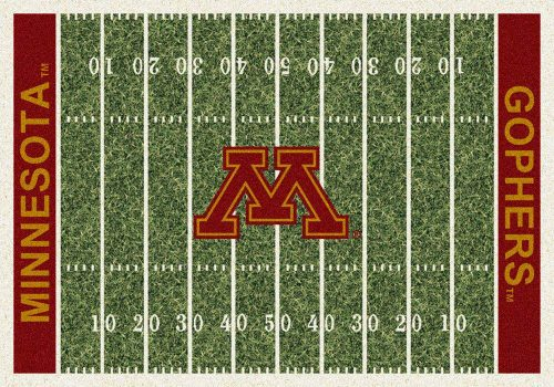 "Minnesota Golden Gophers 3' 10"" x 5' 4"" Home Field Area Rug"