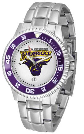 Minnesota State-Mankato Mavericks Competitor Men's Watch with Steel Band