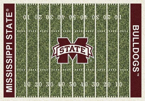 """Mississippi State Bulldogs 3' 10"""" x 5' 4"""" Home Field Area Rug"""