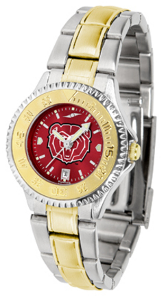 Missouri State University Bears Competitor AnoChrome Ladies Watch with Two-Tone Band