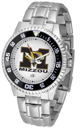 Missouri Tigers Competitor Watch with a Metal Band