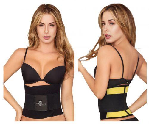 Moldeate 638455768321 8069 Womens Waist Cinchers Yellow - Medium