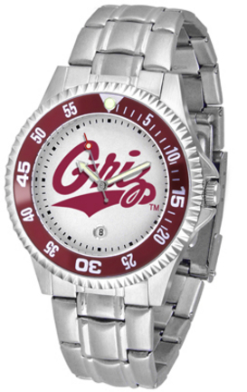 Montana Grizzlies Competitor Watch with a Metal Band