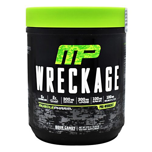 Muscle Pharm 4820223 Wreckage Formula Sour Candy - 25 Per Serving