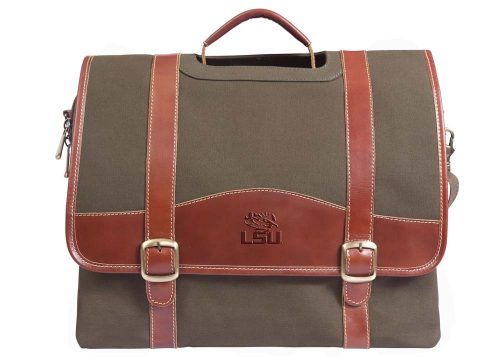 NCAA LSU Tigers Greenmill Canyon Computer Briefcase