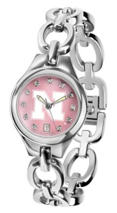 Nebraska Cornhuskers Eclipse Ladies Watch with Mother of Pearl Dial