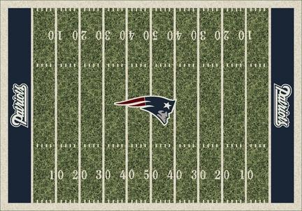 "New England Patriots 3' 10"" x 5' 4"" Home Field Area Rug"