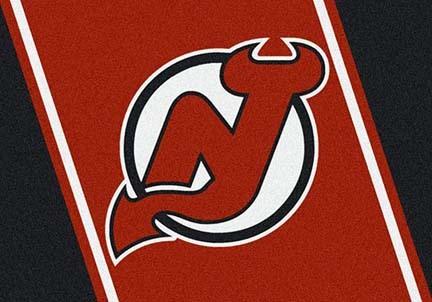 """New Jersey Devils 3' 10"""" x 5' 4"""" Team Spirit Area Rug"""