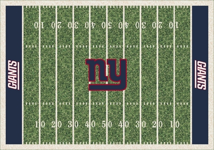 "New York Giants 3' 10"" x 5' 4"" Home Field Area Rug"