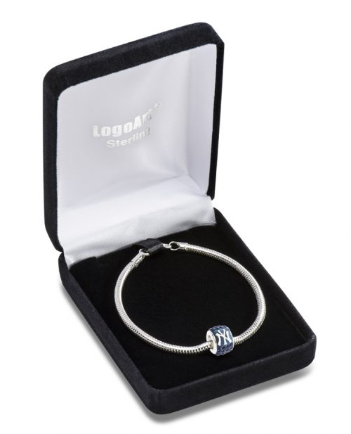 New York Yankees Premier Bead Charm with Bracelet