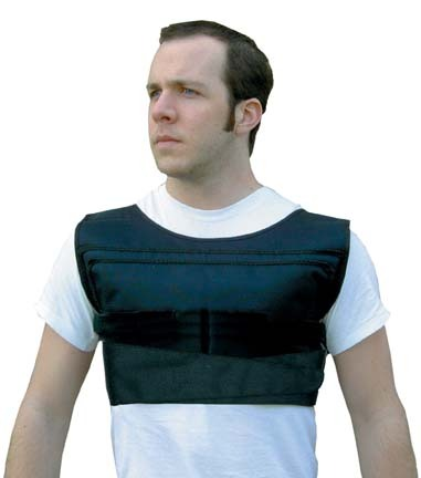 """No Bounce"""" Weighted Shoulder Pad Vest"""