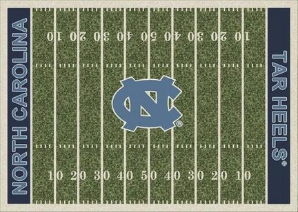 """North Carolina Tar Heels 3' 10"""" x 5' 4"""" Home Field Area Rug"""