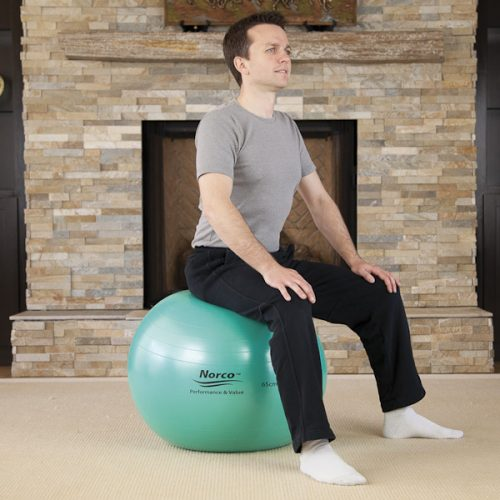 North Coast Medical NC50104 Norco Exercise Ball, 85 cm.
