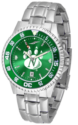 Northwest Missouri State Bearcats Competitor AnoChrome Men's Watch with Steel Band and Colored Bezel