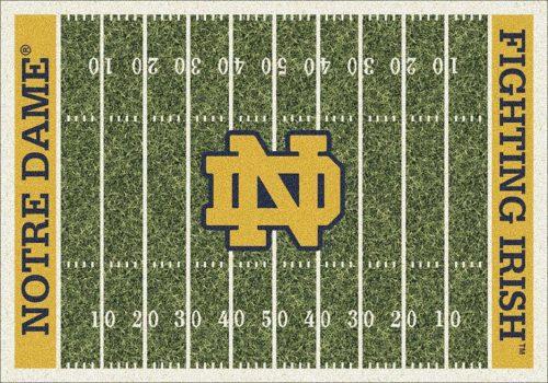 "Notre Dame Fighting Irish 3' 10"" x 5' 4"" Home Field Area Rug"