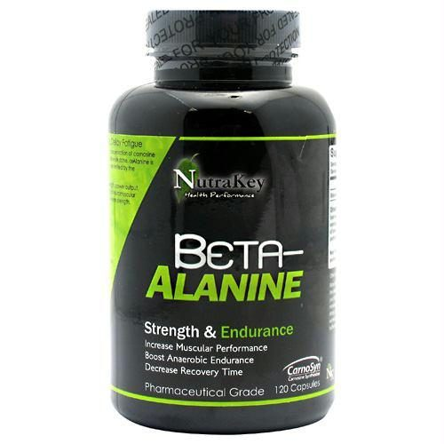 Nutrakey 6150033 Beta-Alanine 120 Capsules