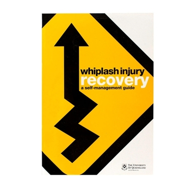 OPTP 8187PKG Whiplash Injury Recovery: A Self-Management Guide - 12 Per Packet