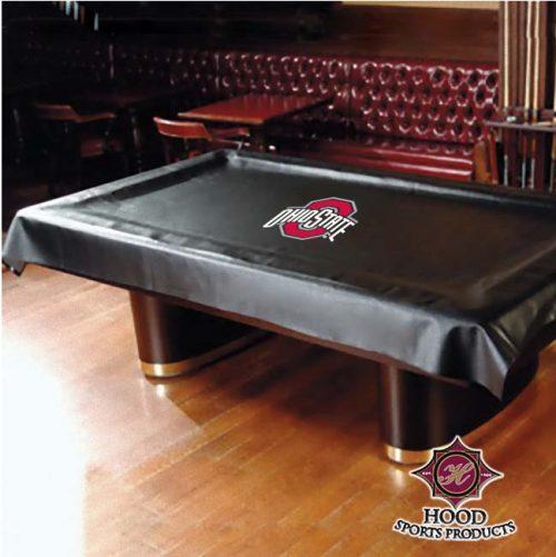 Ohio State Buckeyes MVP Universal Fit Billiard Table Cover