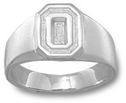 """Ohio State Buckeyes """"O"""" Ladies' Ring Size 6 - Sterling Silver Jewelry"""