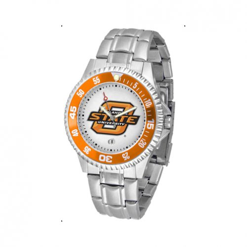 Oklahoma State Cowboys Competitor Watch with a Metal Band