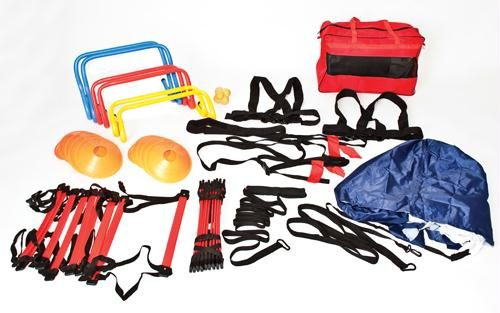 Olympia Sports AG045P Agility Pack with Carry Bag and Evasion Belt
