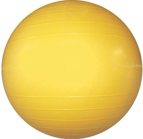Olympia Sports BA619P Therapy-Exercise Ball - 45cm-18 in. Dia. - Yellow