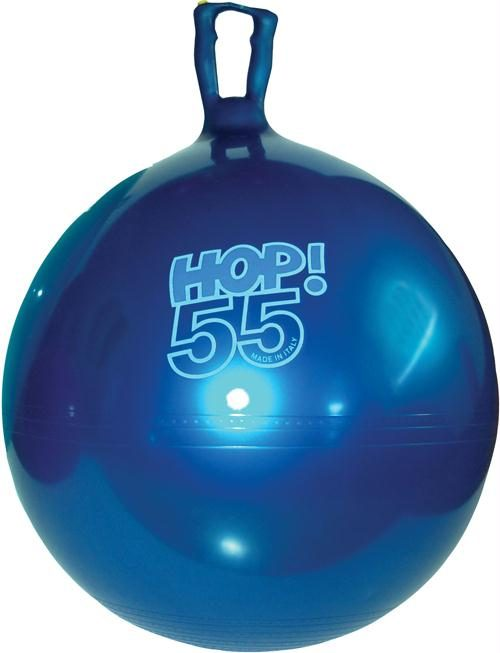 Olympia Sports BA811P 22 in. Hop Ball - Metallic Blue
