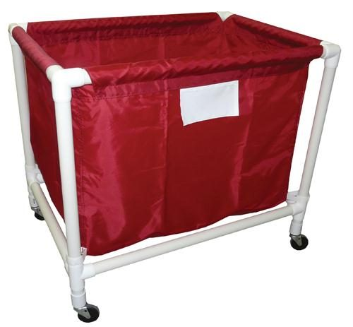 Olympia Sports EC061M Large PVC-Nylon Equip. Cart - Red