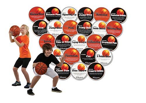 Olympia Sports GE178P Poly Basketball Hotspots