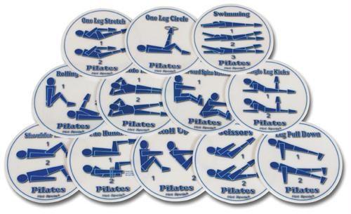 Olympia Sports GE693P Set of 12 Hot Spots- Pilates Spots