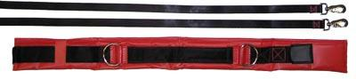 Olympia Sports GY576M Spotting & Training Belt - X-Large - Red