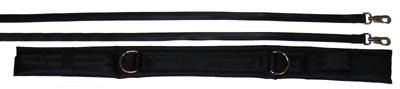 Olympia Sports GY986M Spotting & Training Belt - Small - Black
