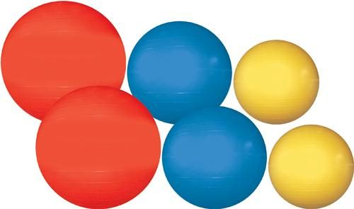 Olympia Sports KT171P Therapy-Exercise Ball Value Pack