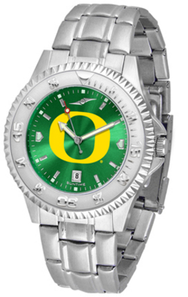 Oregon Ducks Competitor AnoChrome Men's Watch with Steel Band