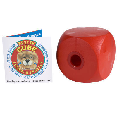 OurPets Co 2130010780 Buster Food Cube Dog Toy