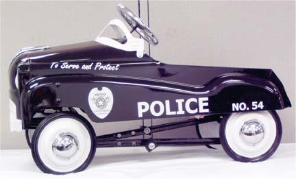 Pacific Cycle Police Car Pedal Car