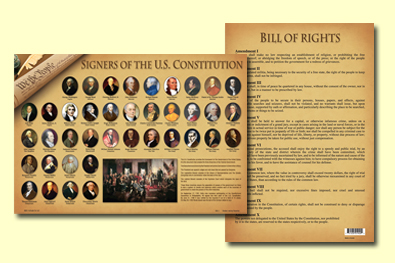 Painless Learning SOC-1 Signers Of The Constitution Placemat