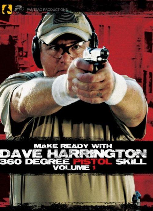 Panteao Productions 852959003003 Make Ready With Dave Harrington - 360 Degree Pistol Skill Volume 1