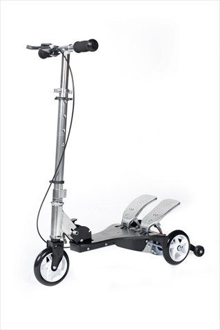Ped-Run PRK-BK Kids Scooter Propelled By Pedaling - Black