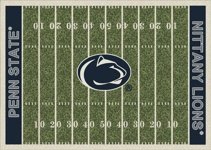 """Penn State Nittany Lions 3' 10"""" x 5' 4"""" Home Field Area Rug"""