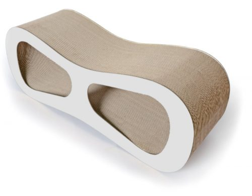 Pet Life CTS7WH Modiche Cat Scratcher White - One Size