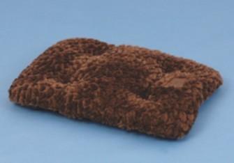 Petmate Brown 41X26 Plush Mat F3F3 - Brown