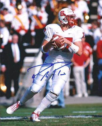"""Phillip Rivers Autographed North Carolina State 8"""" x 10"""" Photograph (Unframed)"""