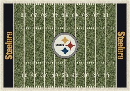 "Pittsburgh Steelers 3' 10"" x 5' 4"" Home Field Area Rug"
