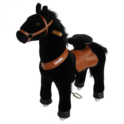 PonyCycle N3183 Ride On Horse No Battery No Electricity Mechanical Horse-Small Black