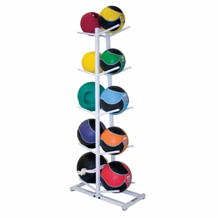 Power Systems 27192 Double Med Ball Tree - Gray